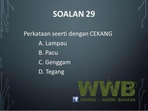 Soalan 29 WWB